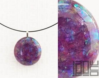 Handmade unique - LaoOne - dark violet