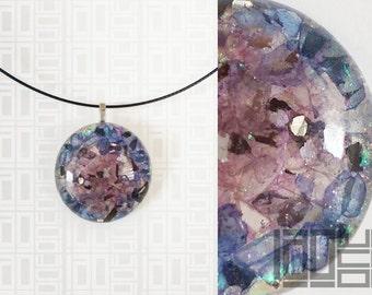 Handmade unique - LaoOne - blue/purple