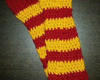 Harry Potter fingerless gloves/ fingerless mittens/ harry potter arm warmers
