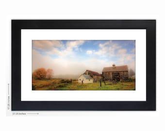 October Morning - Fine Art Print, Framed and Mounted
