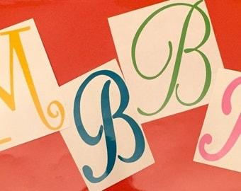 Single Letter Decal-Single Letter Monogram