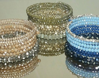 wrap beaded bracelet, fall trends, fall fashion trends, cuff bracelet, bangle bracelet