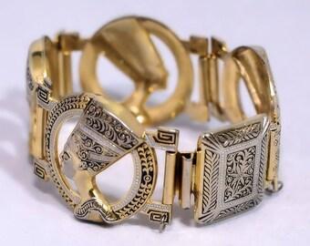 KING TUT Egyptian Revival Bracelet