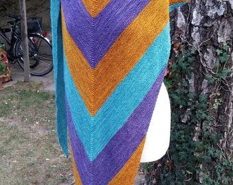 Cloth stoles Merino Wool/silk handmade