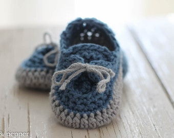 Crochet Baby Booties, Baby Shoes For Boys, Soft Baby Shoes, Made To Order, Newborn, Baby Gift