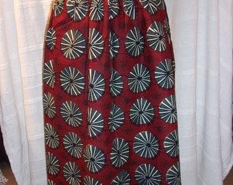 Long skirt in loincloth