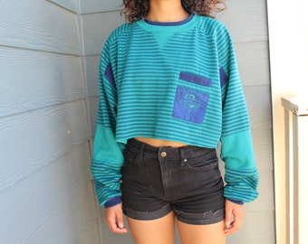 May Crop Sweater
