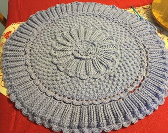 Crocheted heirloom blanket