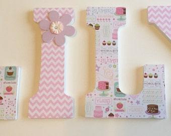 Sweet Nursery Letters