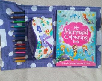 Children's -Colouring tote bag