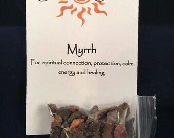 Myrrh & Coal with FREE CRYSTAL