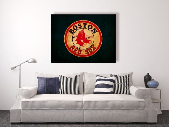 Boston Red Sox vintage style Canvas Print vintage baseball