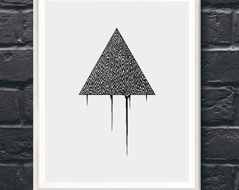 Tri Harder - Fine Art Digital Giclee Print