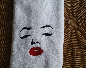 Marilyn Monroe Bath Hand Towel