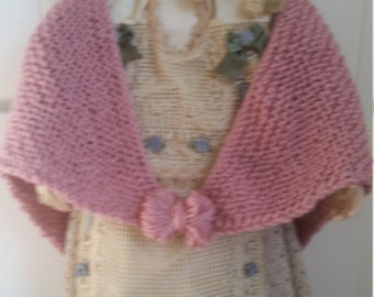 Childs Knitted Shawl