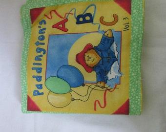 Paddington Machine Sewn ABC Book