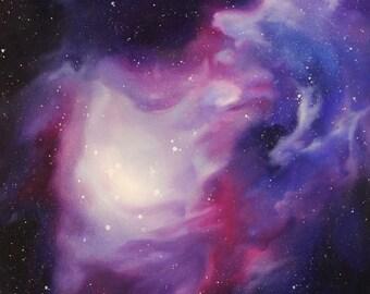 "DISCOUNT Nebula Prints, Set of 3 // Matte // 5x7"""