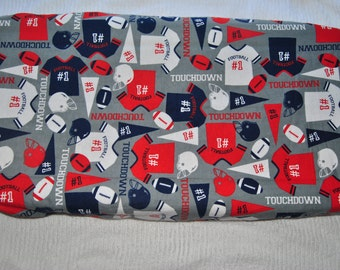 Football Changing Pad Cover