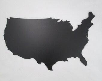 Chalkboard - USA Silhouete