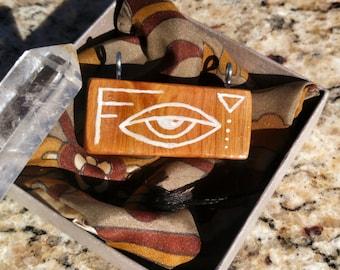 Sacred symbols pendant