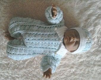 Preemie baby crochet pattern