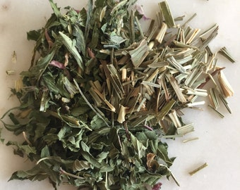 Throat chakra herbal tea blend