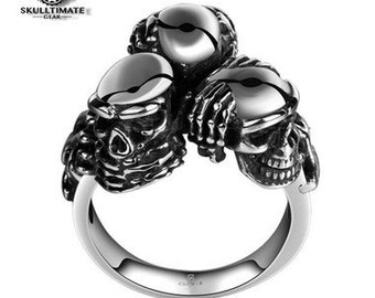 See No, Hear No, Speak No Evil Ring
