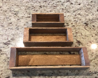 Essential Oil Storage Mini-Crates 3 nesting set