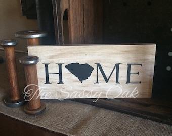 South Carolina Home Sign