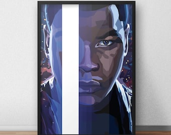 Star Wars: The Force Awakens Finn Print