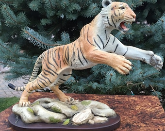 Tiger Sculpture, Limited Edition 393/950, Collectable, Conversation Piece