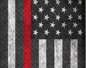 Firefighter Thin Red Line D Plate LAMINATED Cornhole Wrap Bag Toss Decal Baggo Skin Sticker Wraps