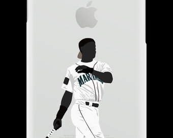 CaseNerd Ken Griffey Junior Baseball Rubber iPhone Case