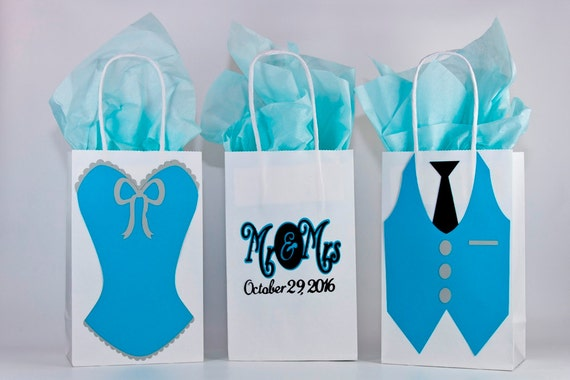 Wedding Gift Bags Bridesmaids : Wedding-Wedding Gift Bags-Bridesmaids Gift Bags-Groomsmen Gifts Bags ...