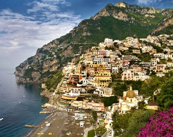 Amalfi Coast, Positano Italy, Positano Print, Amalfi Coast Italy, Fine Art Photo, Amalfi Drive, Campania Provence, Italy Wall Decor