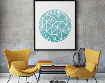Watercolor Sphere