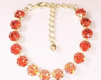 Tangerine Breeze 8.5 mm bracelet