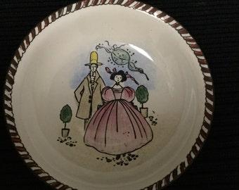 Vintage Enameled Mini Dish