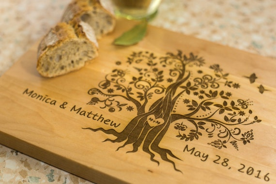 Luxury Wedding Gifts For Couple : board Wedding gift Cutting board gift Luxury wedding Gift for couple ...