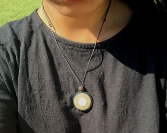 Sea Shell with sand Necklaces
