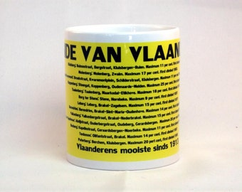 Ronde van Vlaanderen Cycling Mug