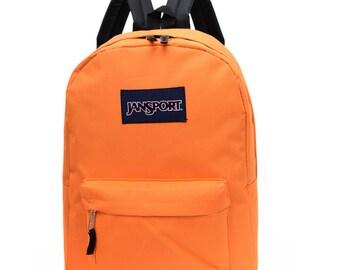 New JanSport Backpack, Orange, Classic type