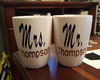 Couples cups set