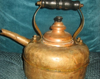 Solid Copper Teapot/Tea Kettle made in England