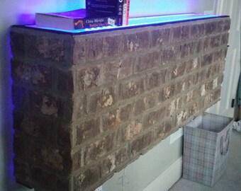 030716 - Brick wall art.