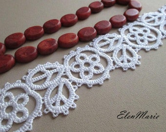 MACHINE EMBROIDERY DESIGN - Lace cuffs, tatting