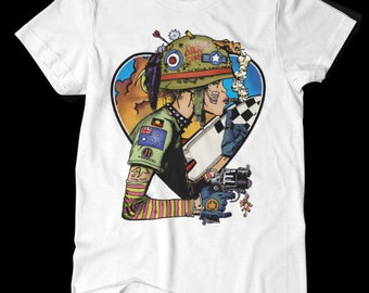 We Love Tank Girl - Tank Girl - Tshirt - Black or white - S M L XL XXL 3XL 4XL