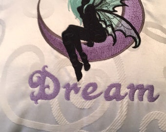 Fairy Dream Pillow cover 15x15 OOAK!!