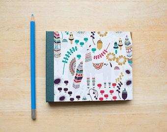 Bohemian Creatures Blank Journal