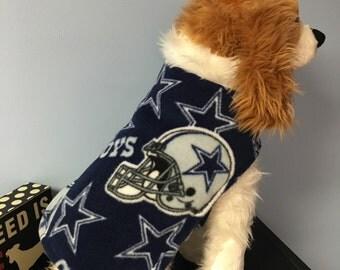 Cowboy's or Raven's dog coat size Xsmall